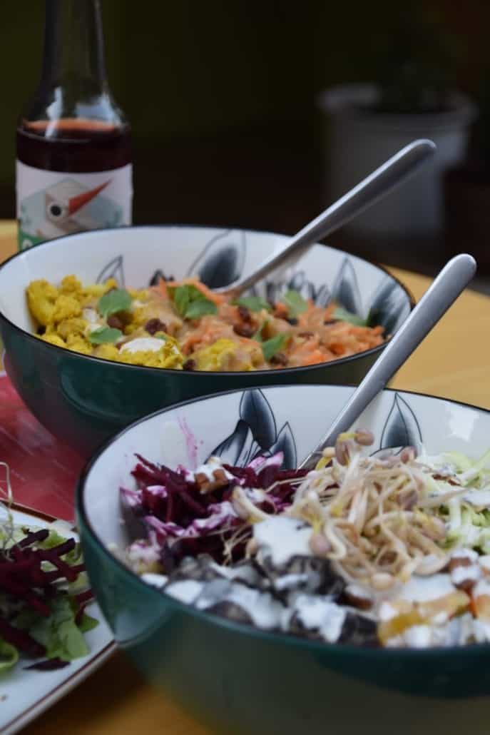 Vegane Bowl
